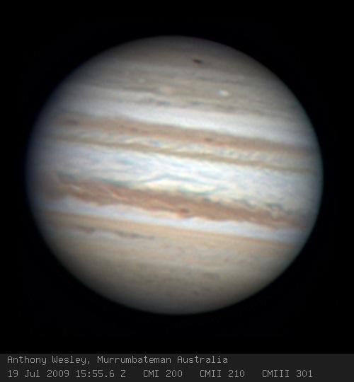 木星上的黑斑